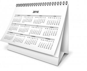 Bild Kalender 2016