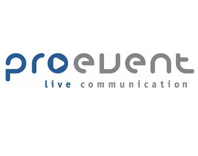 Logo der pro event live-communication GmbH